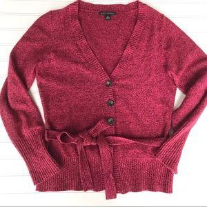 Banana Republic Rabbit Hair Wool Sweater Belted, M